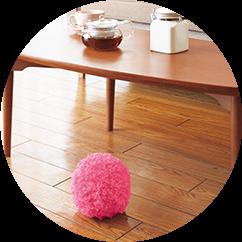 日本CCP MOCORO電動打掃毛球(紅鶴粉紅)+寵物小球