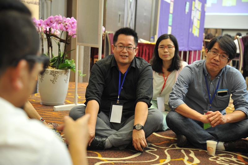 各個分組成員都是主動想參與的夥伴,對主題分享的聆聽與討論都更加投入與熱烈。