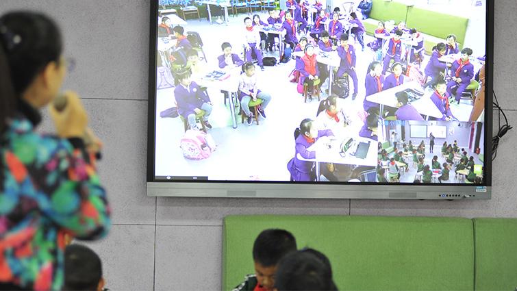 成都紫藤小學:一帶一路起點上的科技亮點