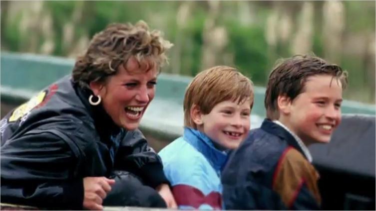 威廉公爵與哈利王子:頑皮母親黛安娜