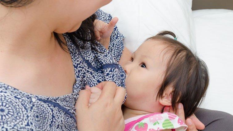 媽媽要相信自己,一定能餵飽寶寶