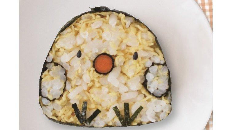 手作親子壽司捲:小雞壽司