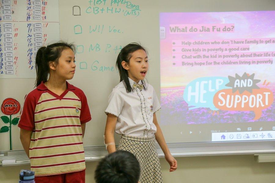 康橋國際學校青山校區「英文專題教學」  以探究式、跨領域真實學習法,將英文能力推到高峰