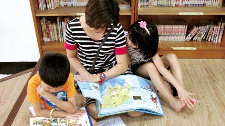 親子閱讀天堂 大小朋友享受共讀樂趣