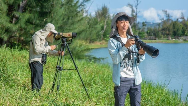 小三起投入賞鳥世界,18歲許宸繁星申請上心中第一志願