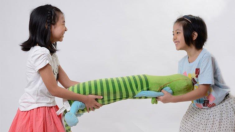 透過練習,讓孩子樂於分享