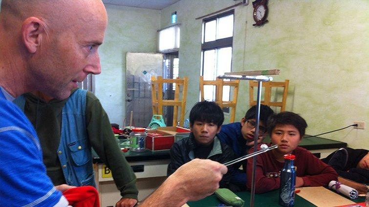 台中市海聲華德福教育:依循自然,從做中學