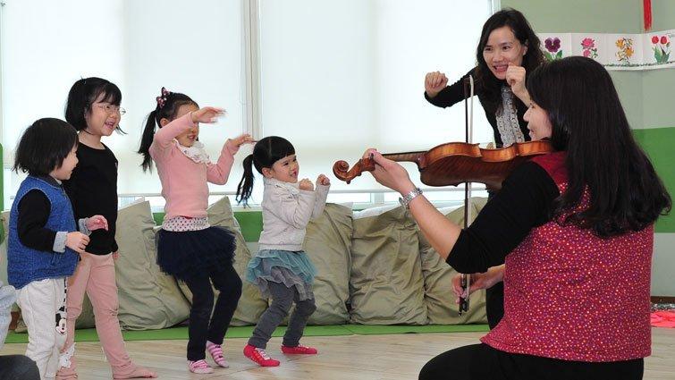 與提琴共舞 讓耳朵身體都打開