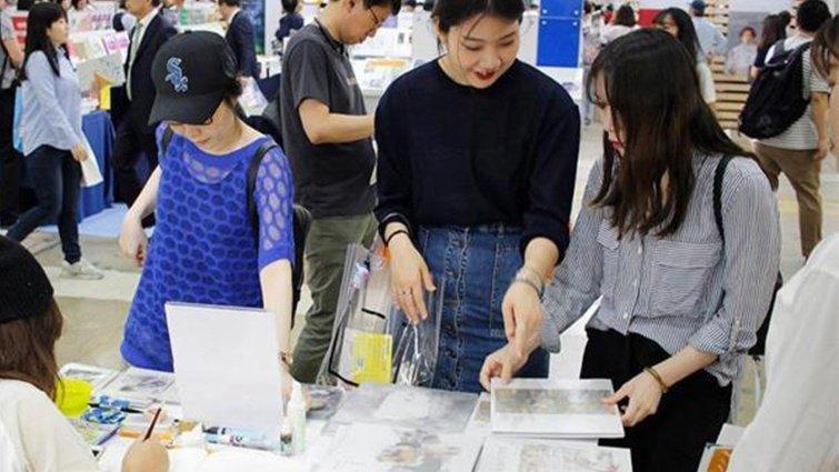 繪本作家陳芳怡勇闖韓國首爾國際書展