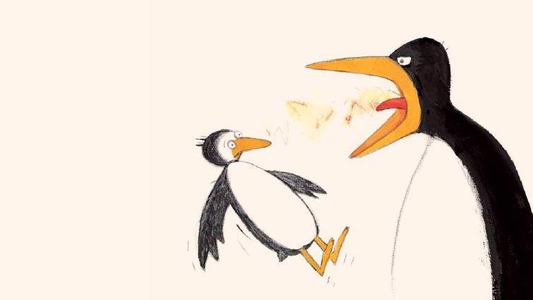 《大吼大叫的企鵝媽媽》譯者的話