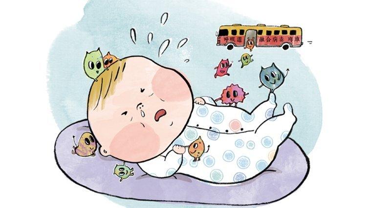 【請問兒科專家】小嬰兒睡覺會打呼,奶水從鼻子流出來,正常嗎?