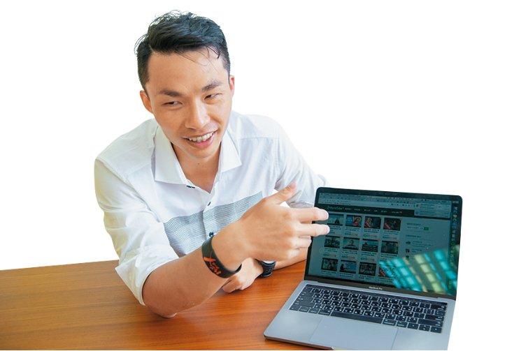 VoiceTube創辦人詹益維,一支費德勒廣告片點燃學英文熱情