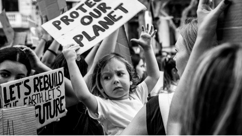 氣候變遷威脅兒童健康,控制暖化升溫人人有責