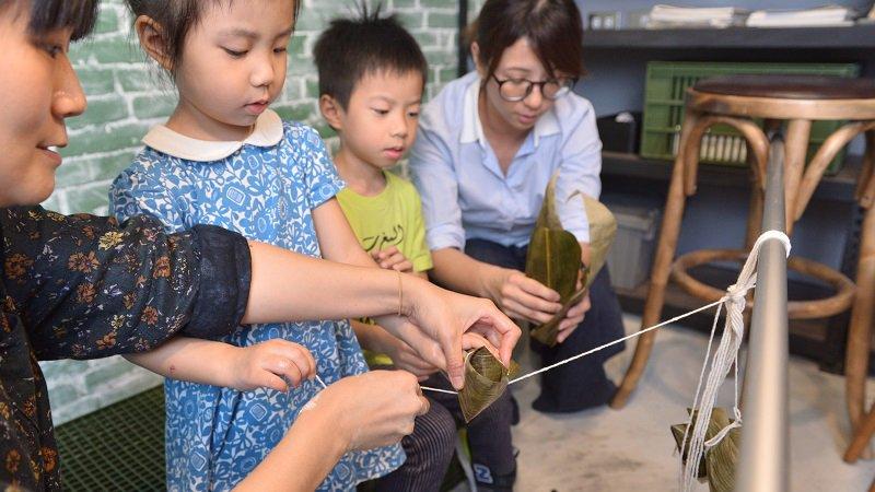 端午節親子一起學包粽,阿嬤的古早味粿粽(下)包粽篇