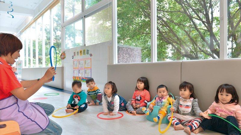 新北市昌隆公共托嬰中心 轉型混齡照顧,幫助孩子建立高穩定性