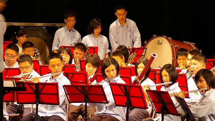 台北市東山高中國中部:六年一貫音樂教育獨樹一幟
