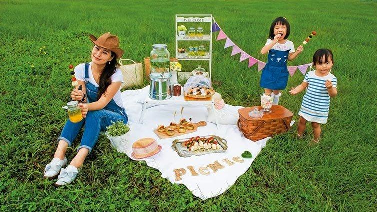 野餐達人璐露野:簡單食材,變身華麗野餐餐點
