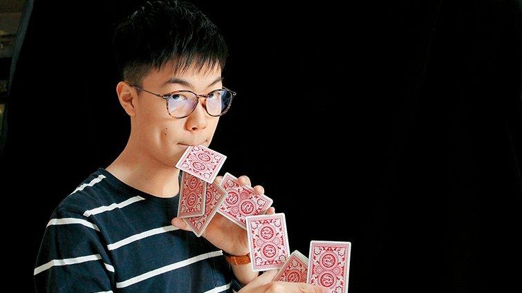 自學魔術的youtuber沈聲瀚:慢速學習,效果居然神展開