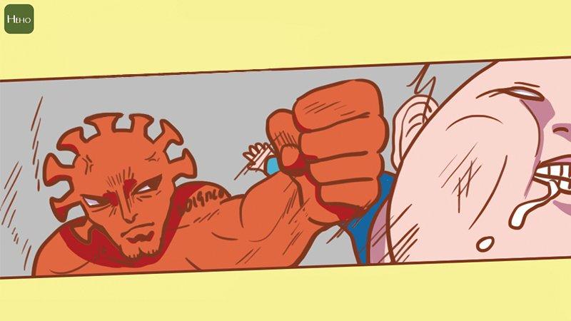 武漢肺炎延燒,漫畫告訴你冠狀病毒為何恐怖!