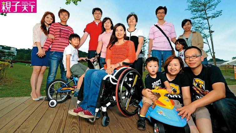 輪椅天使余秀芷:「10大3小」帶我幽默的活下去