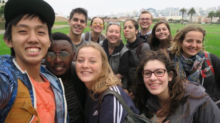 鼓勵「駕駛」自己人生的大學,同班同學來自51國,4年7個城市學習