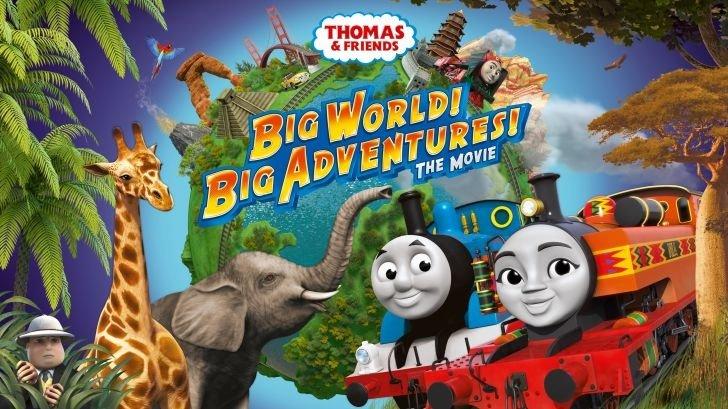 暑假歡樂首選《湯瑪士小火車:環遊世界大冒險》