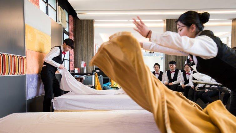 觀光與名廚加持 招生最熱門