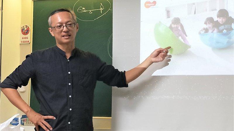 2019教育創新100|建築師爸爸林建成,在教室遊戲中讓設計思考生根