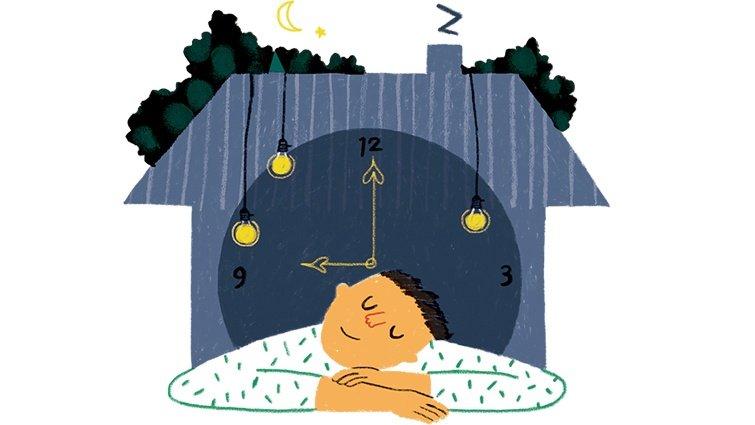 黃瑽寧:早點關燈早點睡,可行嗎?