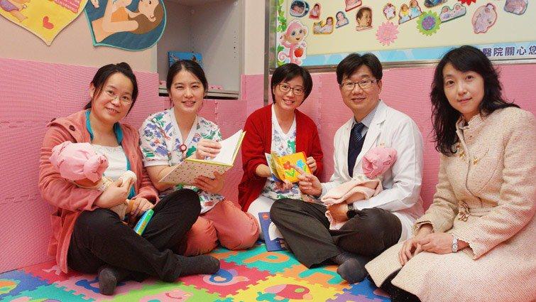 親子共讀療癒無遠弗屆,長庚納入兒醫培育計畫