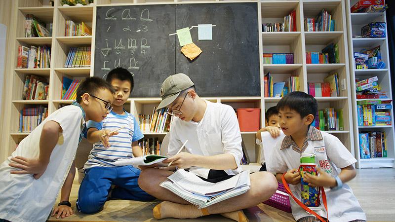 不談成績的安親班 子穠園用「對話」教孩子解決問題