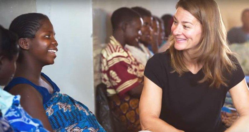 「第一貴婦」梅琳達蓋茲:平等要從家裡做起