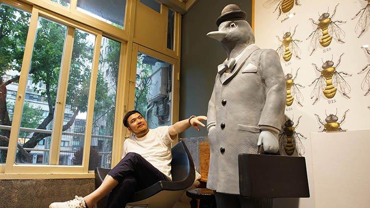 插畫家鄒駿昇:我希望做一個柔軟、盡量表達愛的父親