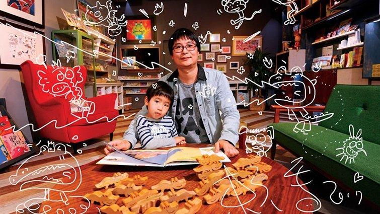 暢銷榜頭一遭 童書賣贏勵志書奪冠:賴馬,隨時在想如何讓大人、小孩都買單