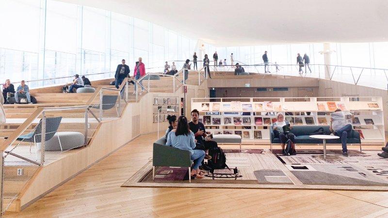 北歐最美 芬蘭赫爾辛基中央圖書館—不只是圖書館  更是一個智慧市集