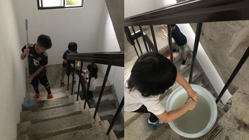帶孩子掃掃別人門前雪,學習無私地為他人付出