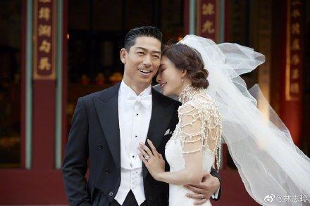 林志玲與Akira婚禮