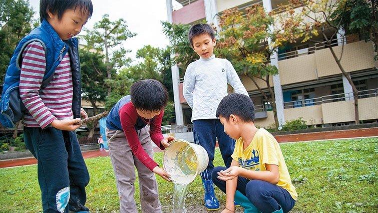 台北市同心華德福共學團:身體活動培養「韌」的能力