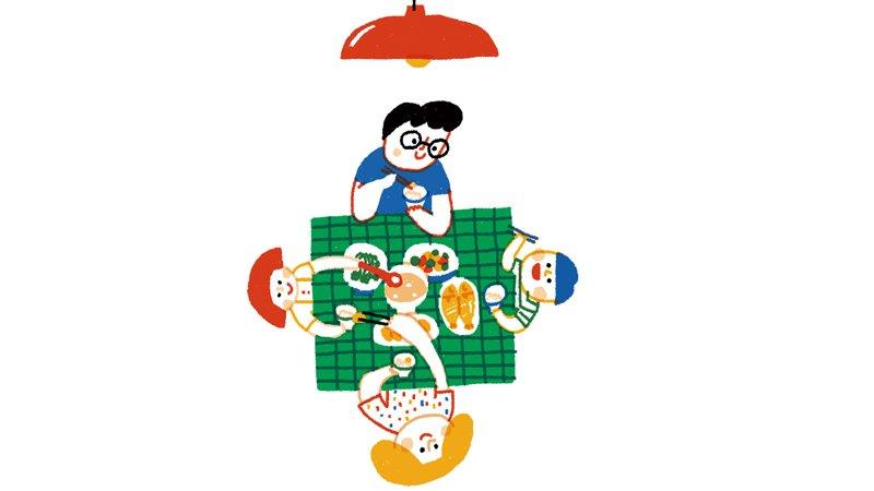黃瑽寧:努力找回全家同桌吃晚餐的文化