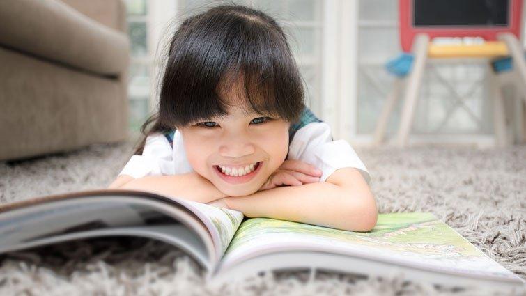 讓孩子由閱讀進入英語的學習