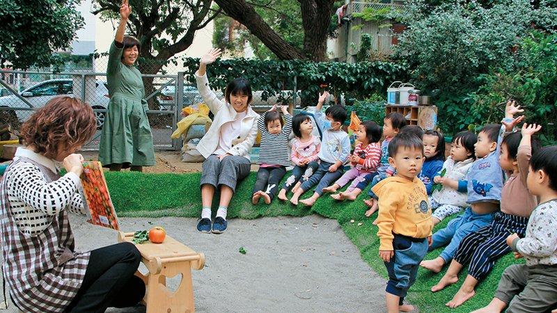 台中市格安諾予托嬰中心 打造自然學習環境,發展孩子的四感能力