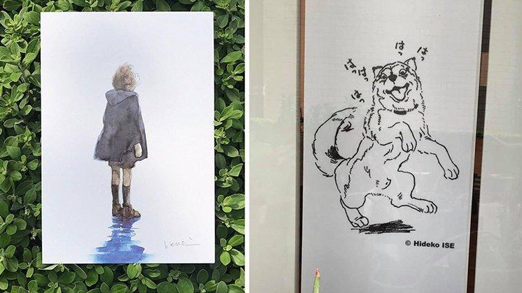 繪本界療癒天后伊勢英子:觀看原畫和圖畫書是截然不同的體驗