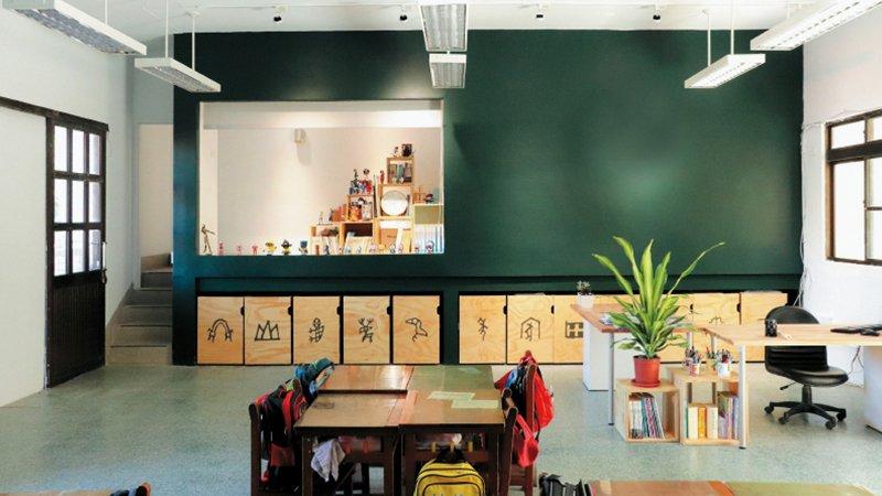 學校也太美! 設計師進校園減法改造 讓人愛上學