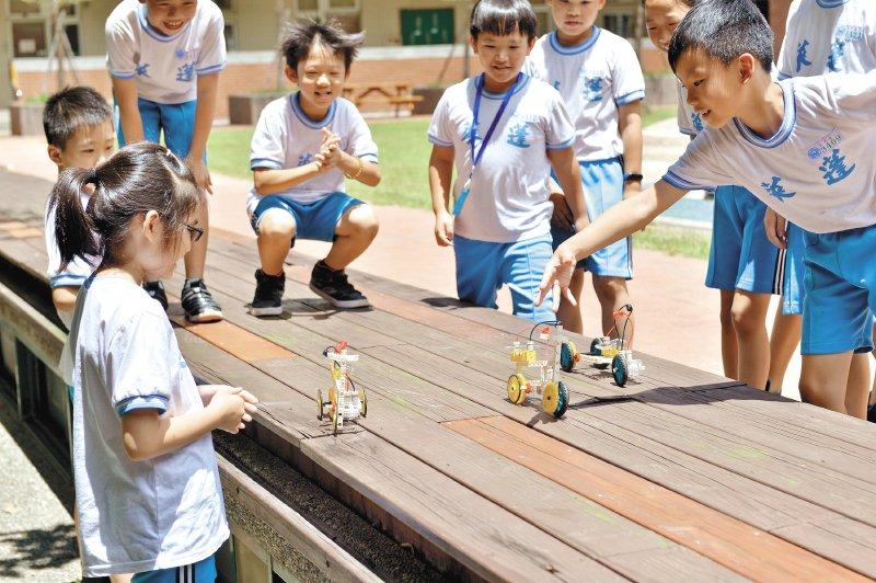 台北市蓬萊國小超能課|比體育課受歡迎的動手動腦課