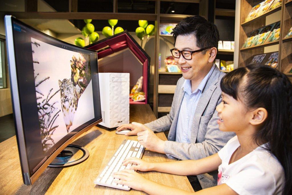 阿鎧老師的數位教養心法!讓華碩桌上型電腦ASUS S340MF陪孩子連結全世界