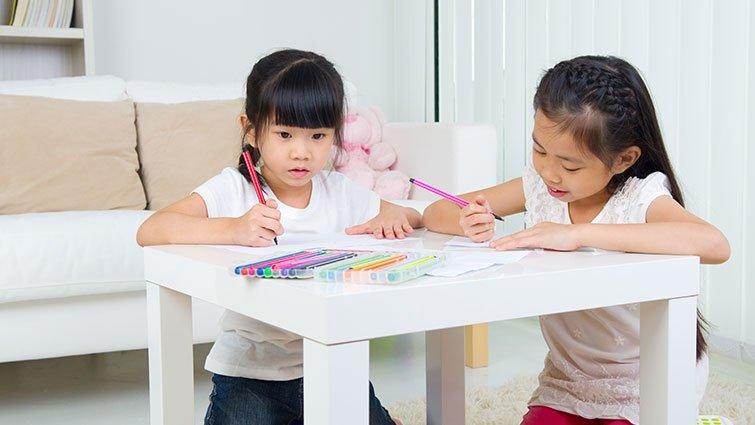 圖畫會說話,從圖面了解孩子的個性