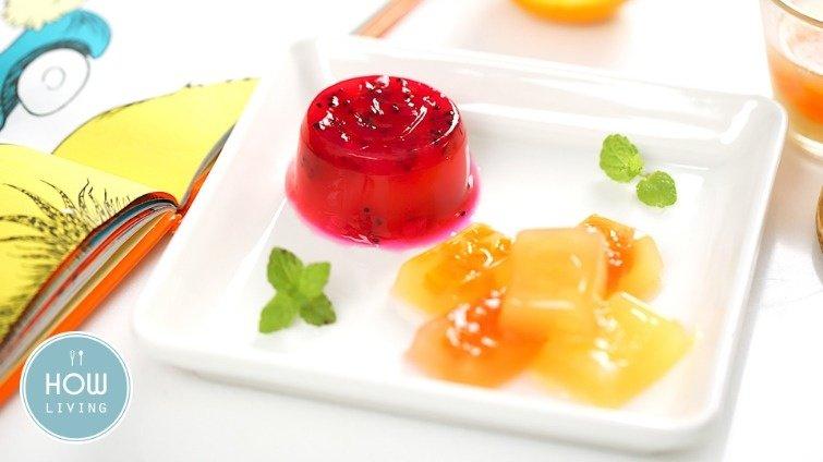【副食品教學】10個月寶寶沒胃口?吃蔬果洋菜凍吧!