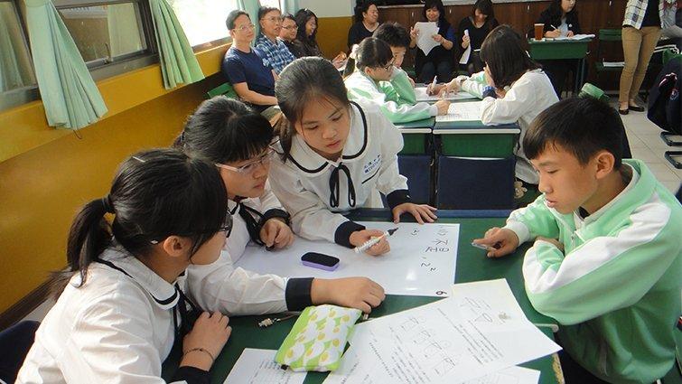 新竹市光復中學國中部:從生活體驗找學習開關