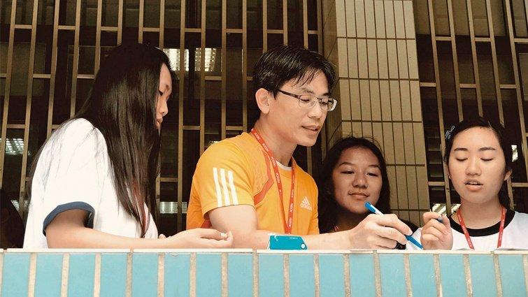 台南市善化高中數學老師謝宗霖  分組差異化教學,數學課不再恐懼