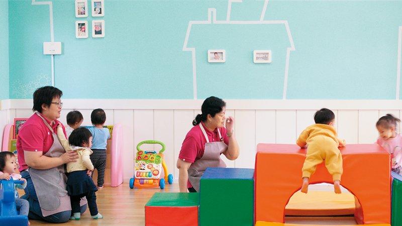 台南市慈雲公共托育家園 小家園大家庭,南市首間公共托育服務